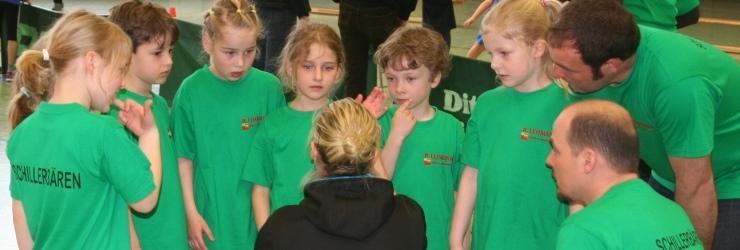 Grundschulturnier 2014 Rundsporthalle Waiblingen